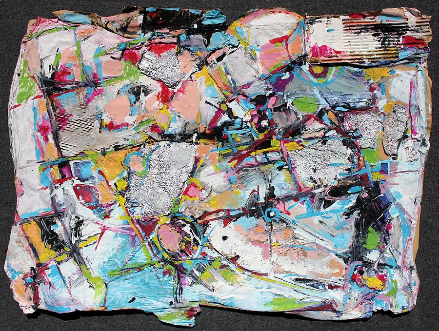 Abstract Painting Painting - Car Wash by Hari Thomas