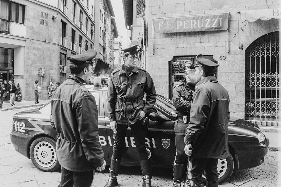 Carabinieri Photograph - Carabinieri by Luna Curran