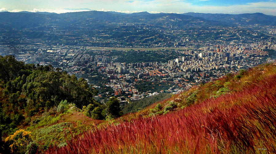 Caracas from above by Bibi Rojas