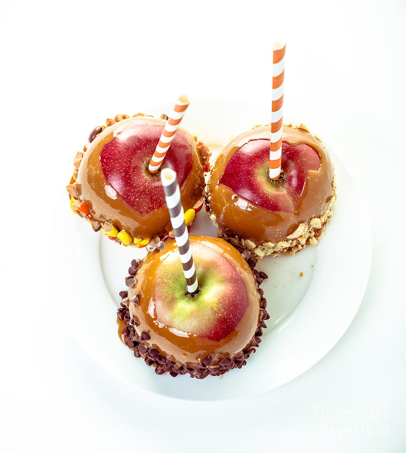 Candy Photograph - Caramel Apples by Edward Fielding