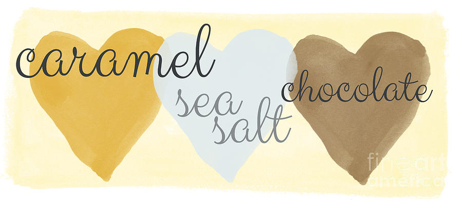 Caramel Sea Salt And Chocolate Painting