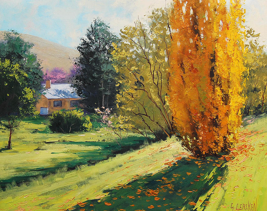 Fall Painting - Carcor Autumn by Graham Gercken