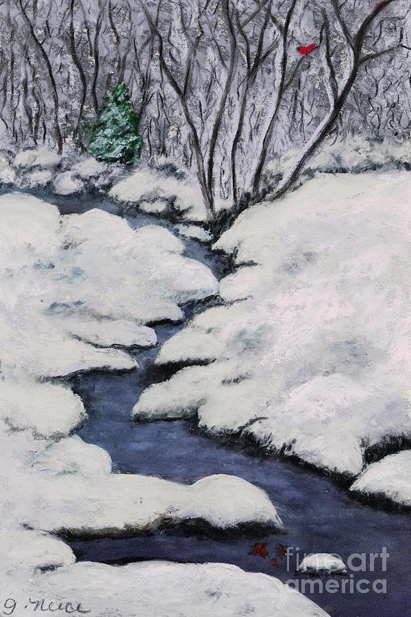 Cardinal Pastel - Cardinal Creek by Ginny Neece