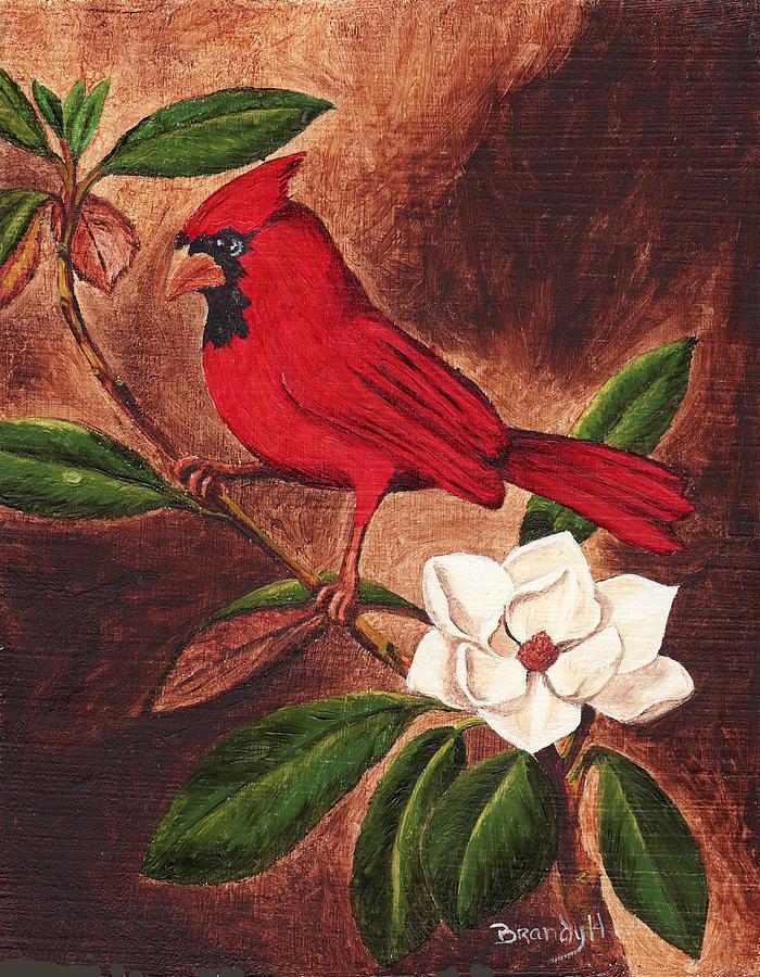 Birds Painting - Cardinal II by Brandy House