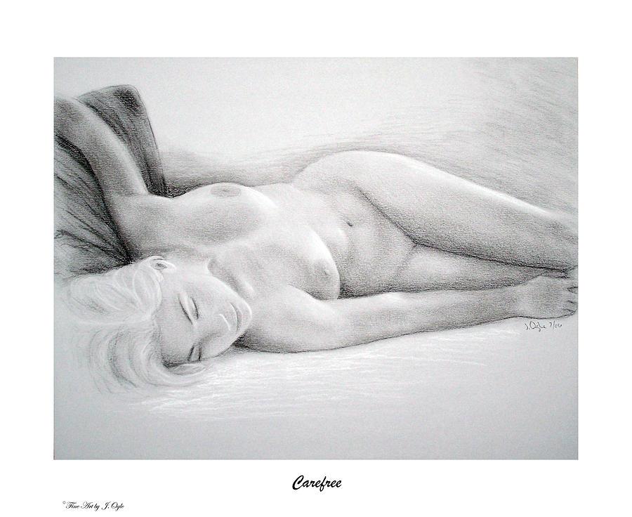 Joe Ogle Painting - Care Free-print Only by Joseph Ogle
