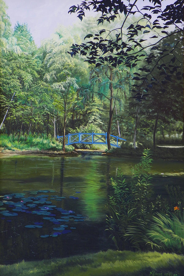 Landscape Painting - Careys Pond by Kenneth Young