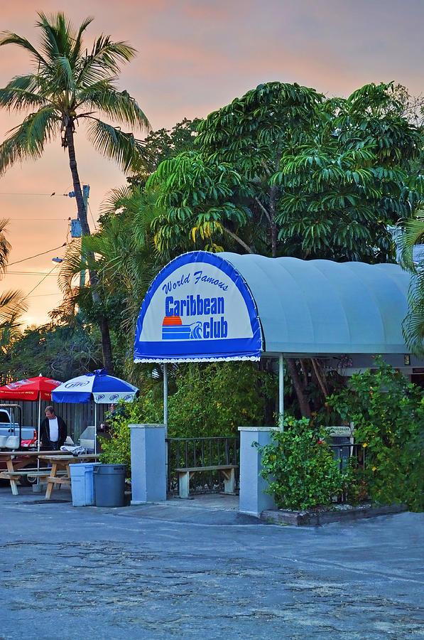 Key Largo Photograph - Caribbean Club Key Largo by Chris Thaxter