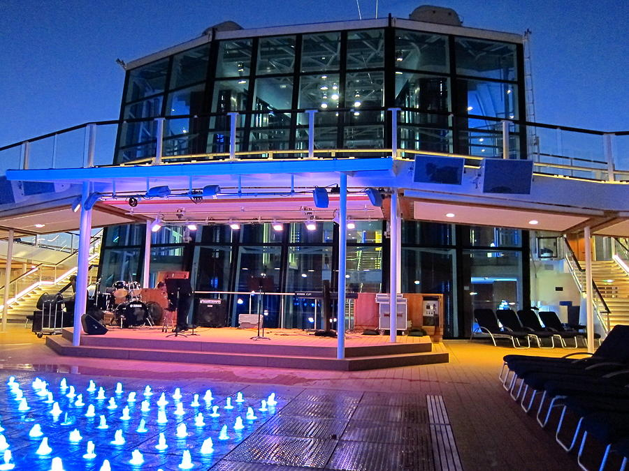 Cruise Photograph - Caribbean Cruise - On Board Ship - 121238 by DC Photographer