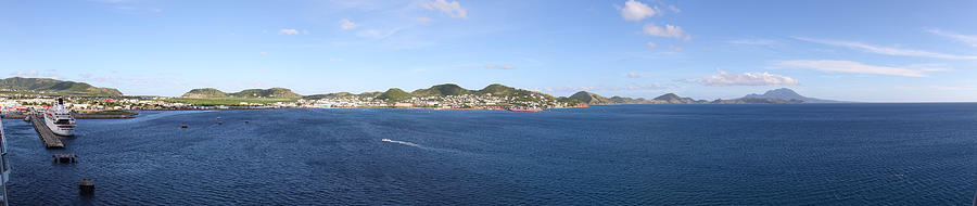 Cruise Photograph - Caribbean Cruise - St Kitts - 12125 by DC Photographer