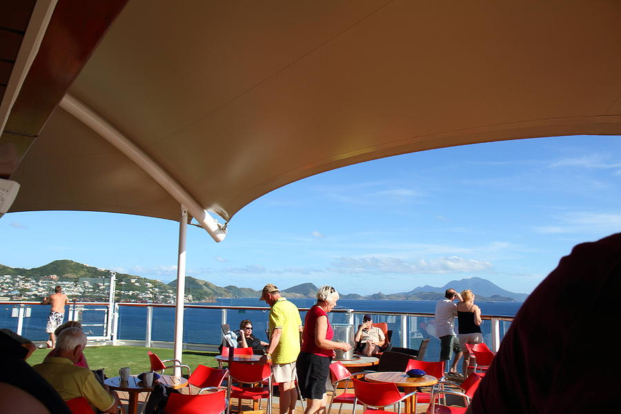 Cruise Photograph - Caribbean Cruise - St Kitts - 121284 by DC Photographer
