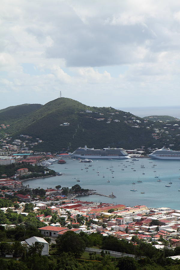 Cruise Photograph - Caribbean Cruise - St Thomas - 1212201 by DC Photographer