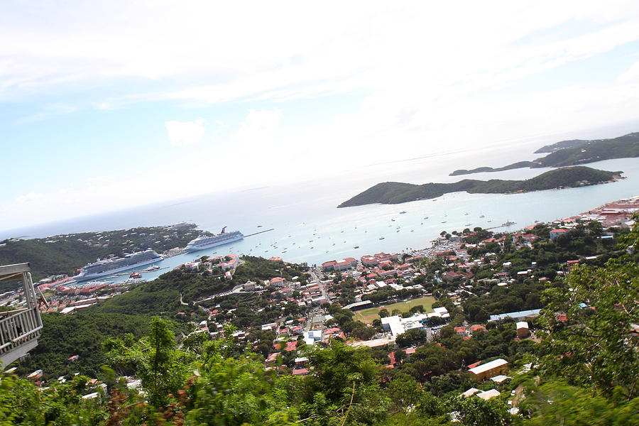 Cruise Photograph - Caribbean Cruise - St Thomas - 1212248 by DC Photographer