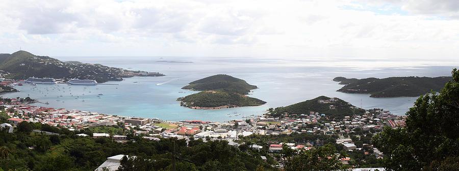 Cruise Photograph - Caribbean Cruise - St Thomas - 12124 by DC Photographer