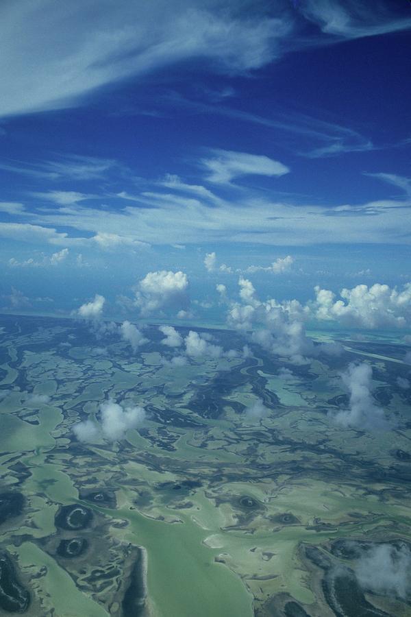 Aerial Photograph - Caribbean Isle Mosaic by Don Kreuter