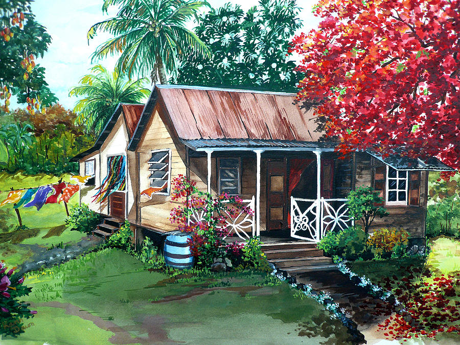 Caribbean Life Painting By Karin Dawn Kelshall Best