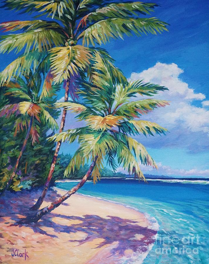 Cayman Painting - Caribbean Paradise by John Clark