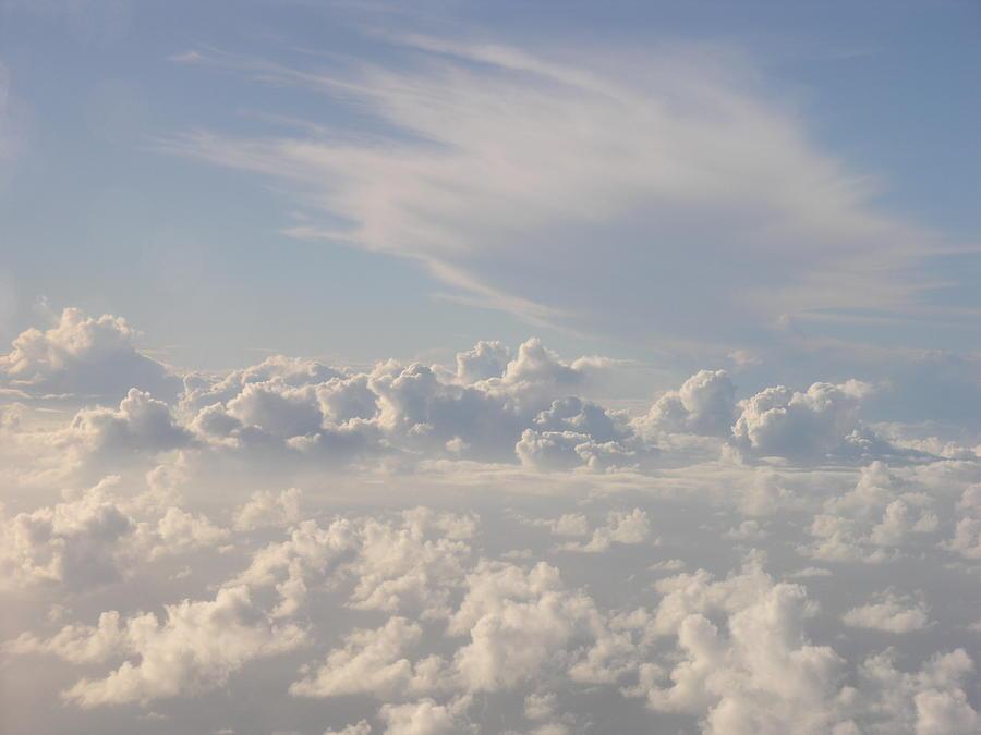 Caribbean Sky Photograph - Caribbean Sky by Olaf Christian