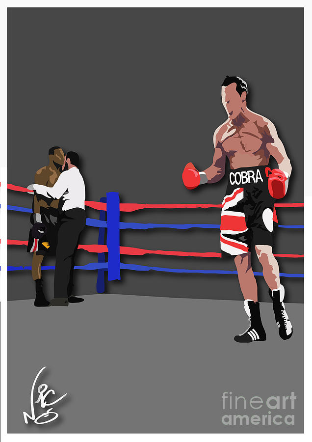 Boxing Digital Art - Carl Froch Vs Jermain Taylor by Neil Roberts