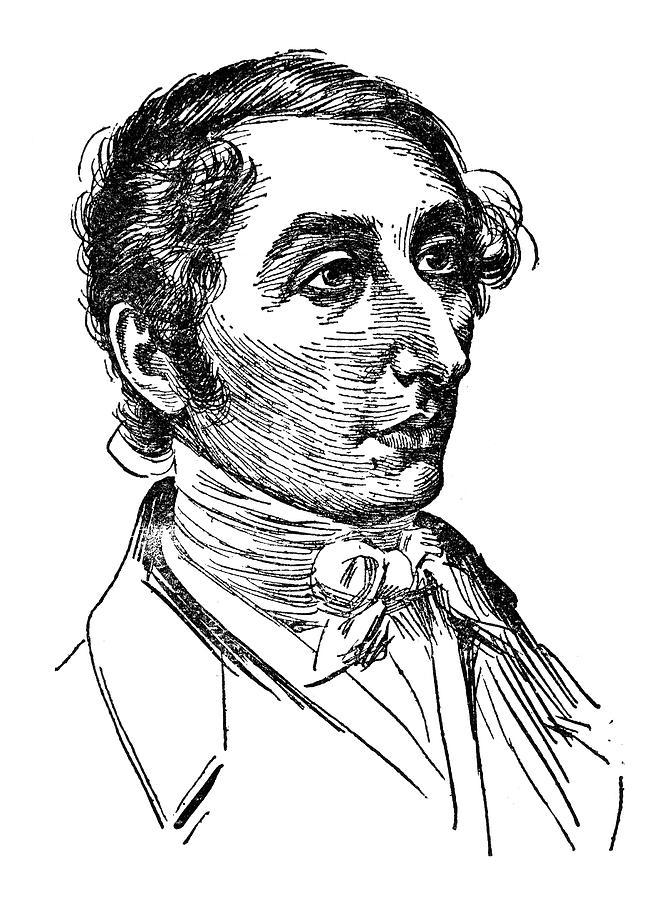 19th Century Drawing - Carl Maria Von Weber (1786-1826) by Granger