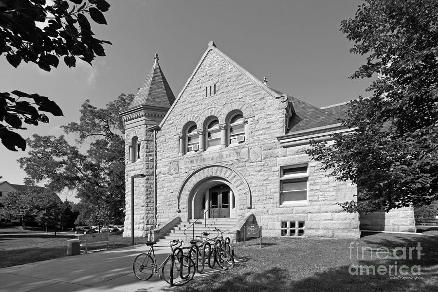 Carleton Photograph - Carleton College Scoville Hall by University Icons