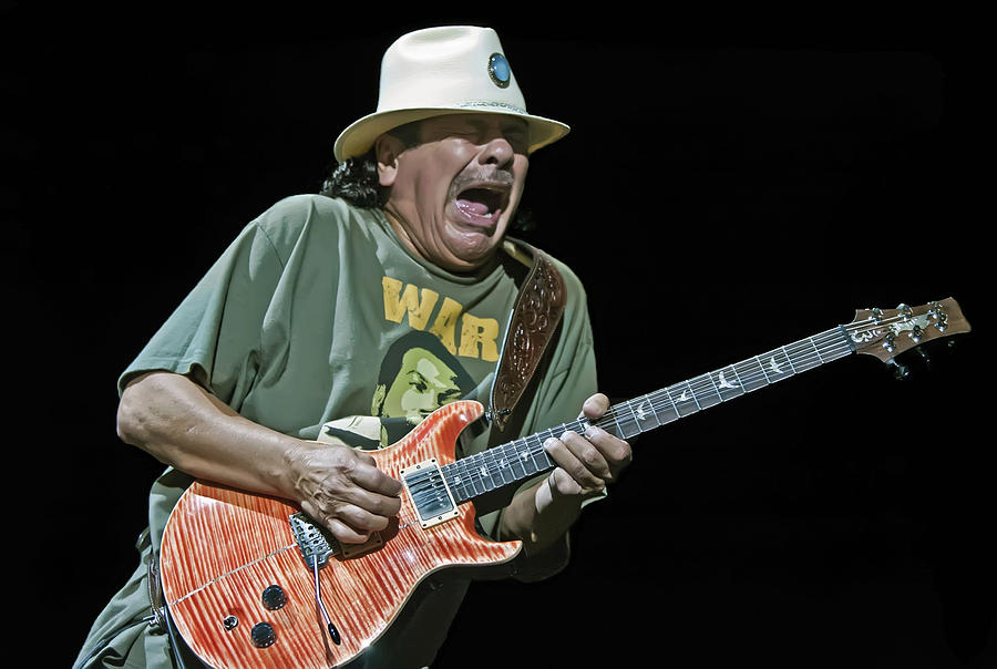 carlos santana on guitar 4 photograph by jennifer rondinelli reilly fine art photography. Black Bedroom Furniture Sets. Home Design Ideas
