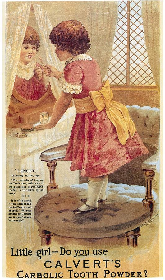 Carlvert's Carbolic Tooth Powder Ad by Gianfranco Weiss