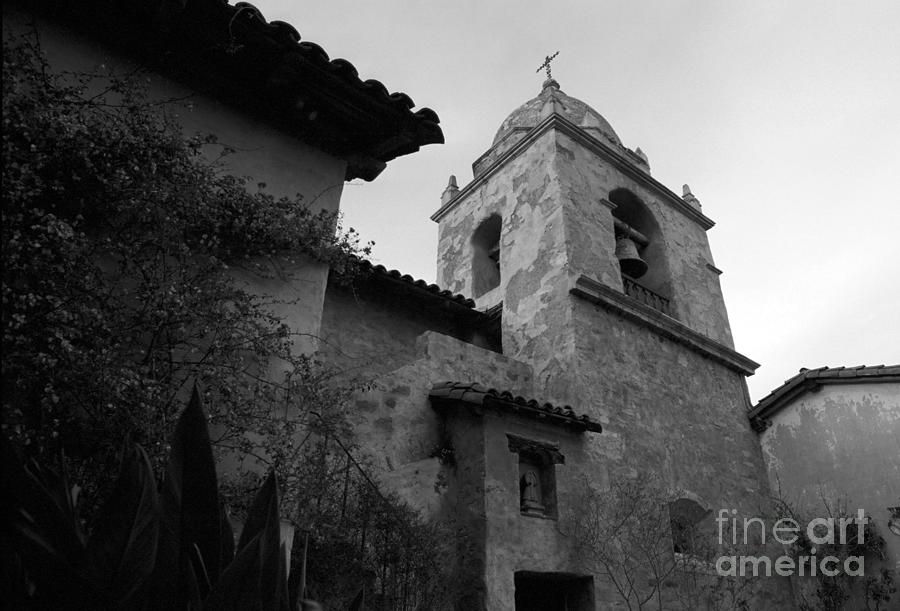 Carmel Photograph - Carmel Mission Bell Tower by James B Toy