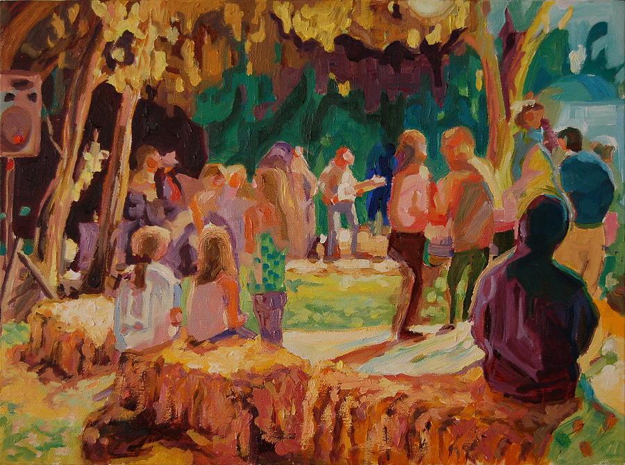 Carmel Valley Hoopla Painting by Thomas Bertram POOLE