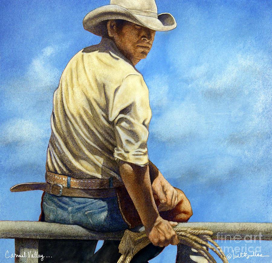 Bullis Painting - Carmel Valley... by Will Bullas