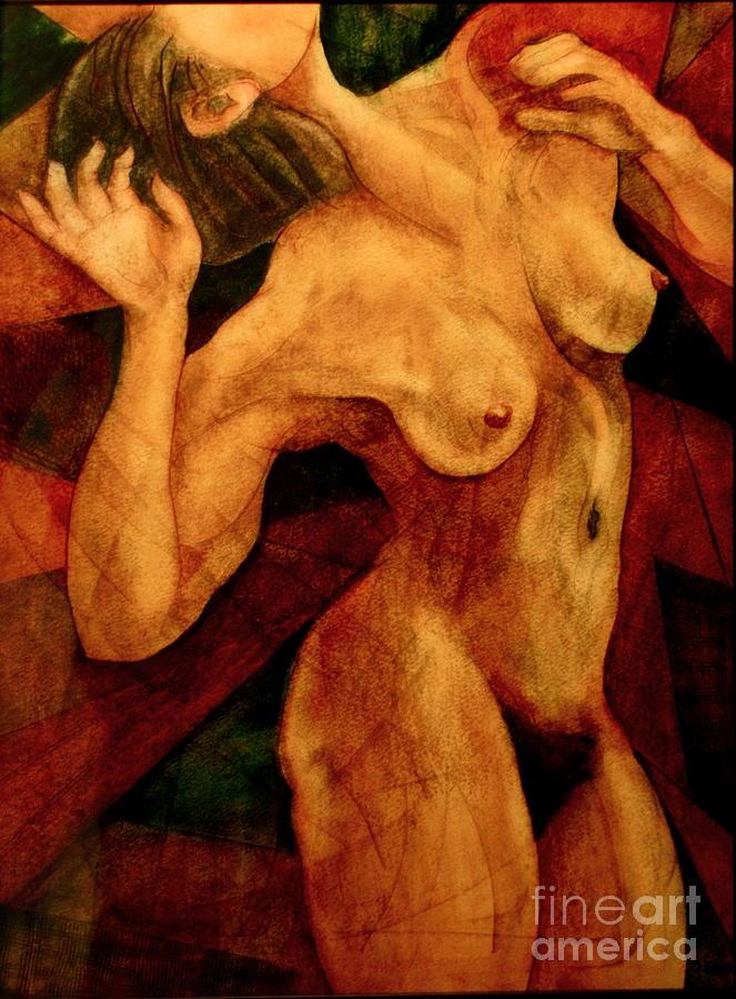 Female Nude Painting - Carmina Burana by Dan Earle