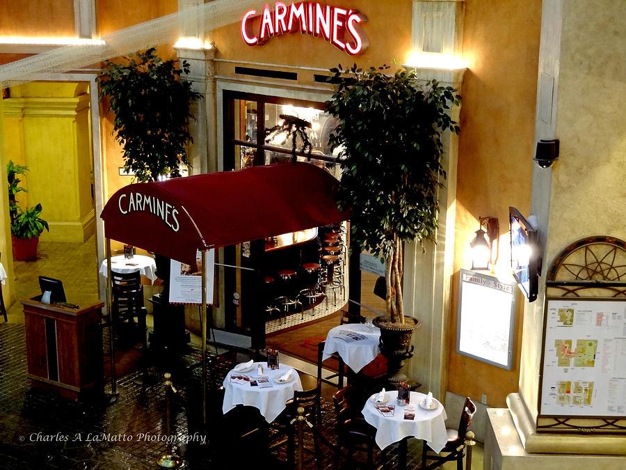 Carmines Atlantic City Tropicana Casino by Charles A LaMatto