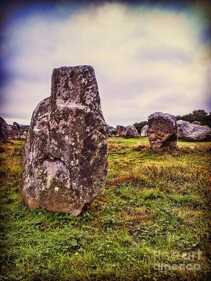 Carnac Photograph - Carnac by Colin and Linda McKie