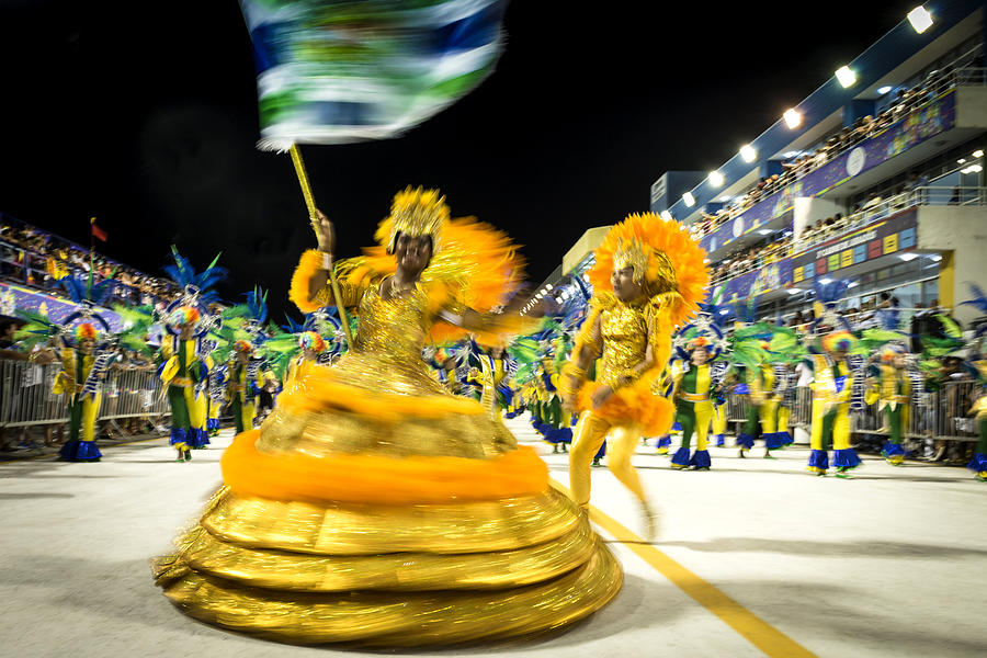 Carnaval - Brazil 2016 Photograph by Global_Pics