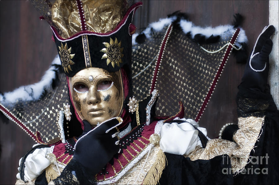 Carnevale Photograph - Carnival In Venice 13 by Design Remix