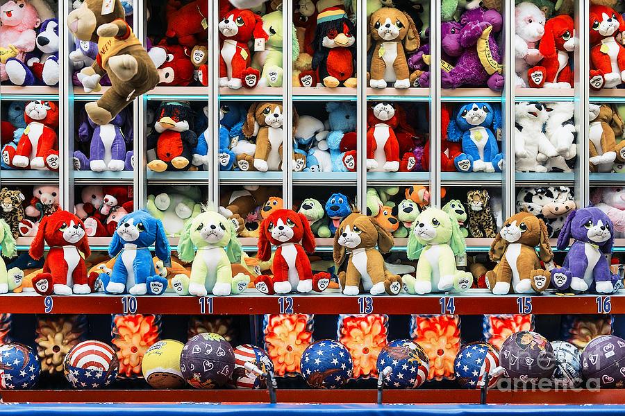 Atlantic City Photograph - Carnival Prizes by John Greim