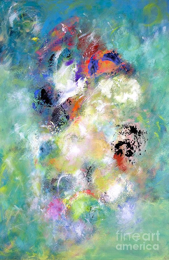 Acrylic Painting - Carnival Ride - Pegasus by Jason Stephen