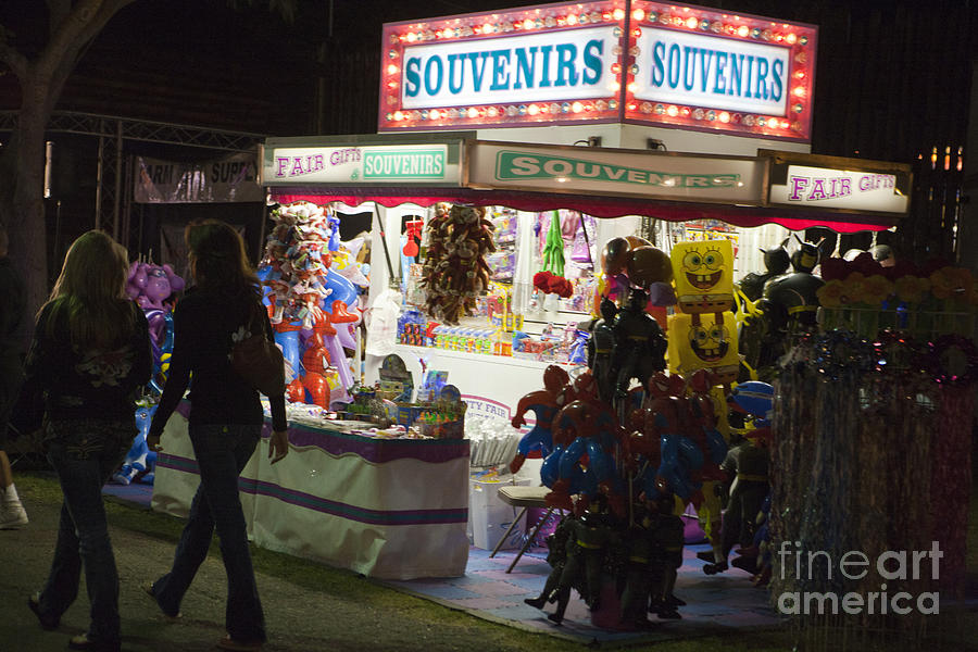 Travel Photograph - Carnival Souvenirs by Jason O Watson