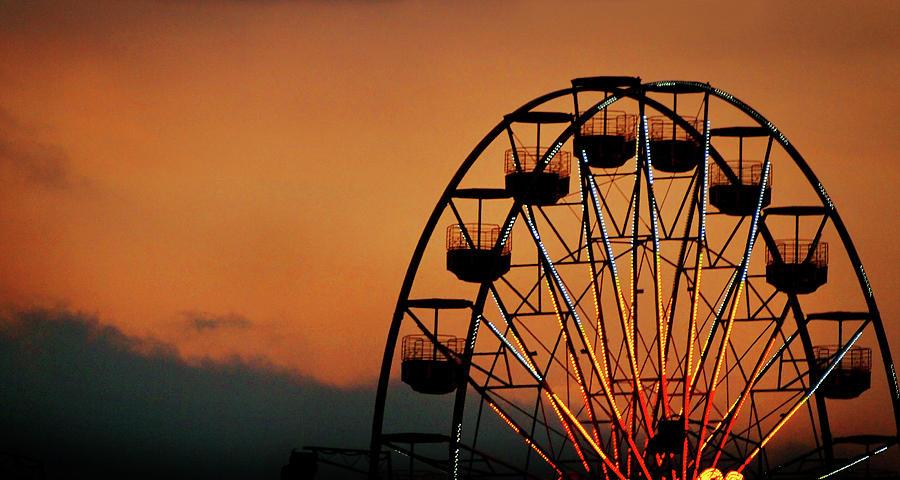 Carnival Sunset Photograph by Cheryl Chan