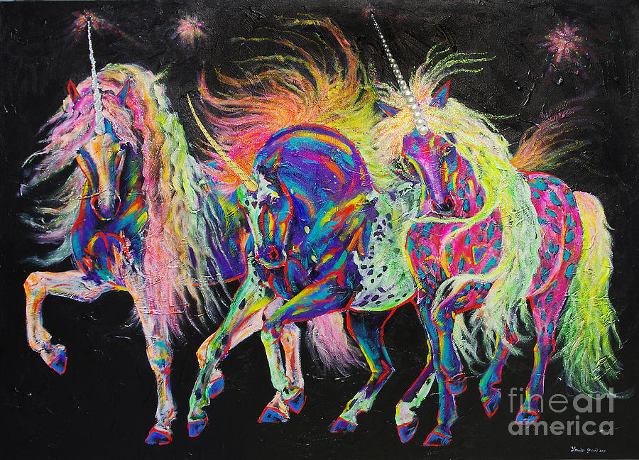 Carnivale Painting - Carnivale by Louise Green