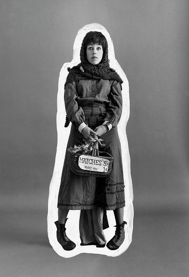 Carol Burnett Dressed As A Match-girl Photograph by Leonard Nones