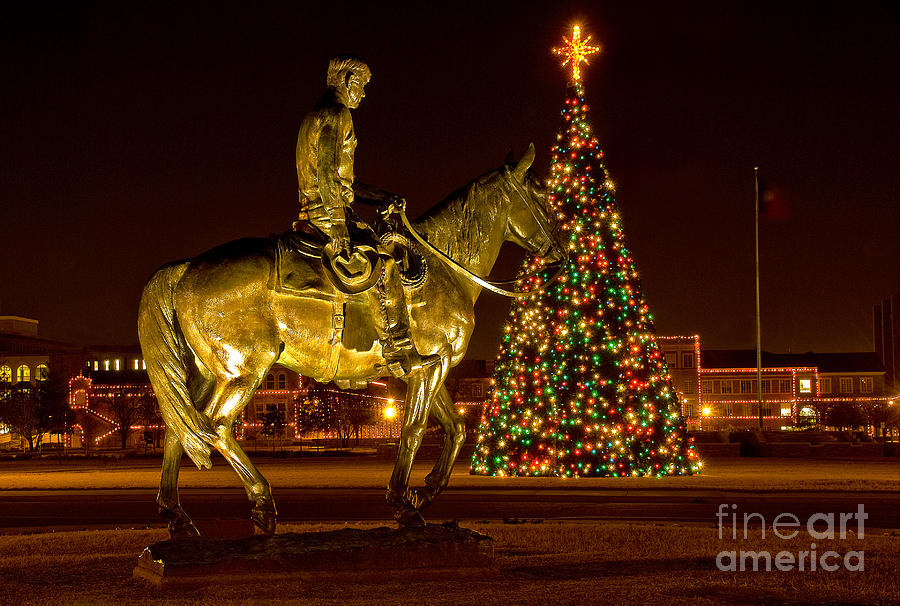 Will Rogers Photograph - Carol Of Lights by Mae Wertz