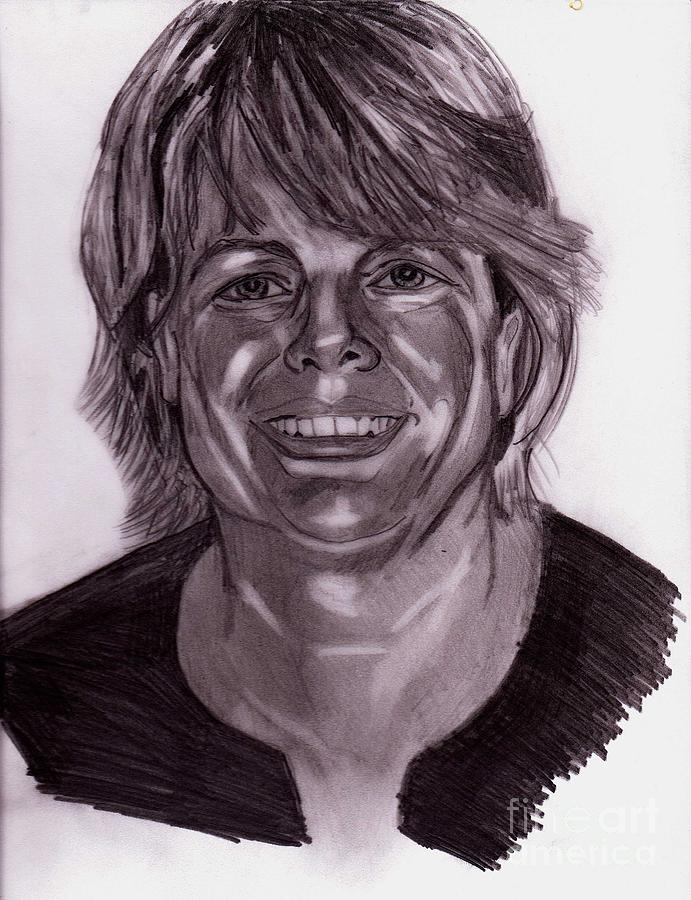Carol Sue Drawing by Timothy Fleming