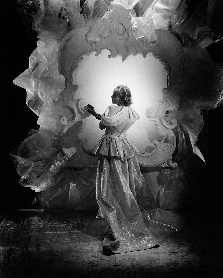 Carole Lombard On A Movie Set Photograph by George Hoyningen-Huene