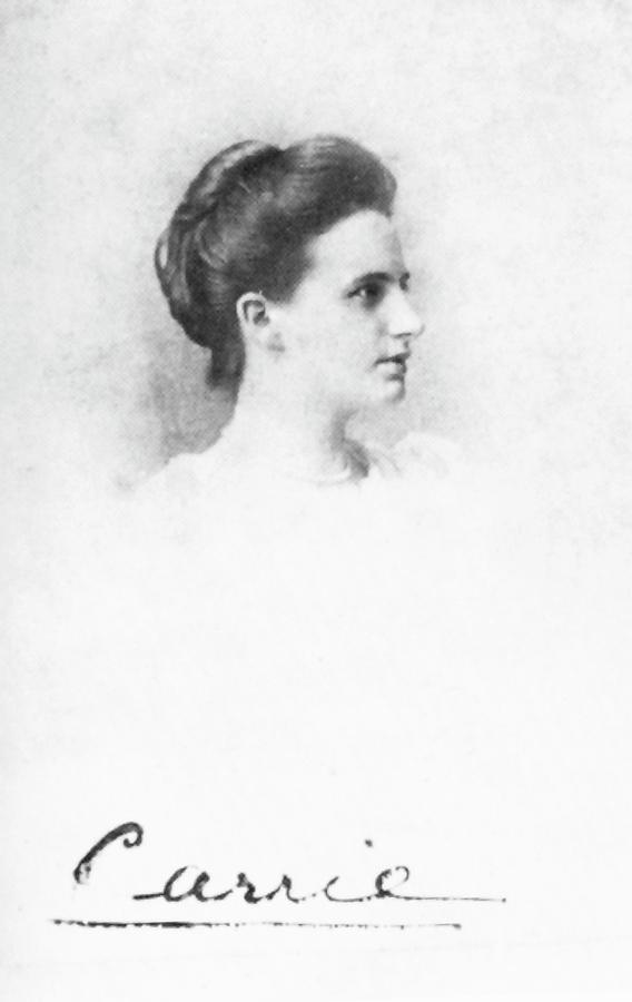 1892 Photograph - Caroline Balestier by Granger