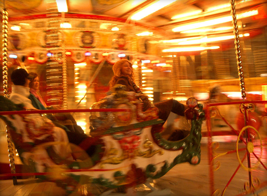 Carousel ride by Jim Barbour