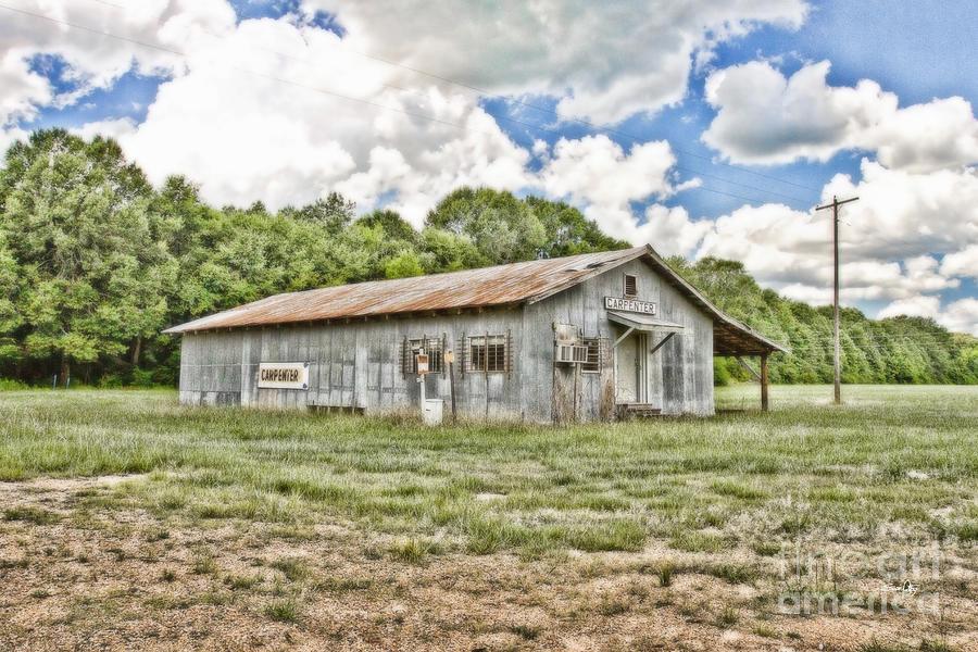 Carpenter Photograph - Carpenter Building by Scott Pellegrin