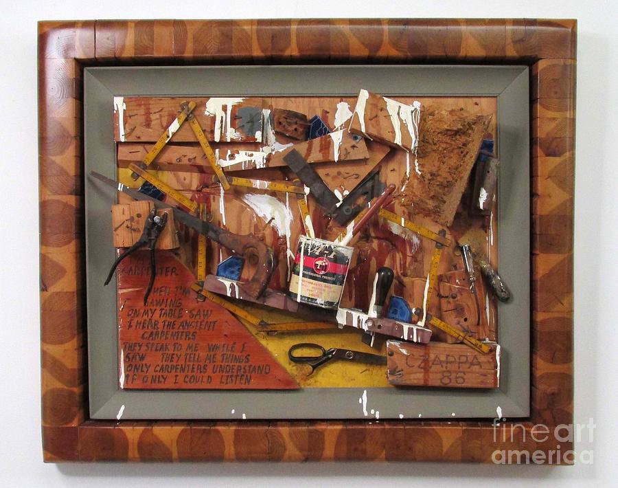 Czappa Relief - Carpenters Lament  #15 by Bill Czappa