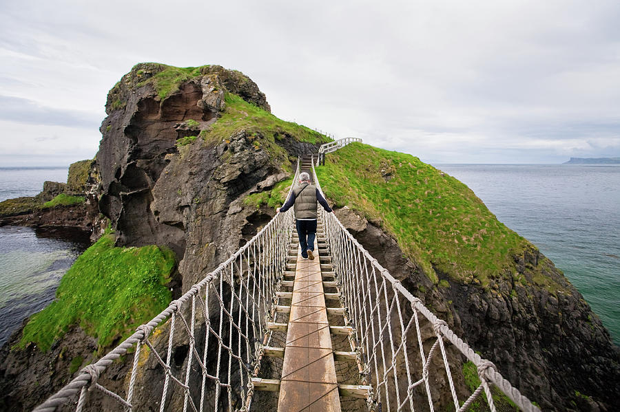Carrick-a-rede Rope Bridge, Co. Antrim Photograph by David Soanes Photography