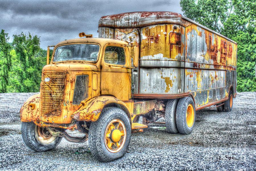 Antique Digital Art - Carrier by Dan Stone