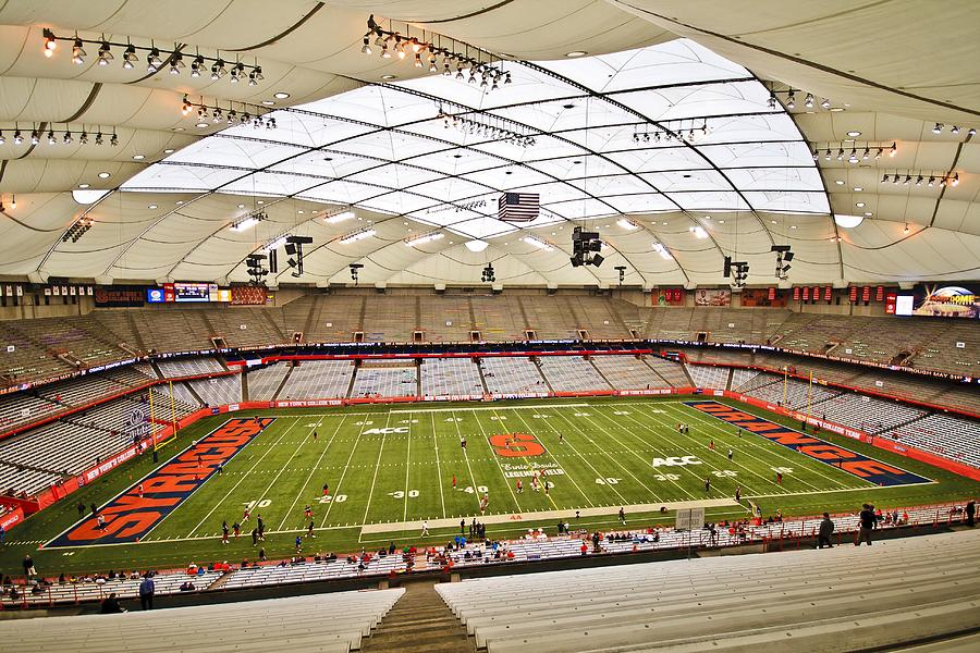 Carrier Dome At Syracuse University